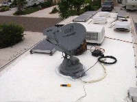 TV Satellite Dish Replacement