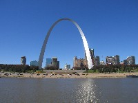One of many views of the Gateway Arch