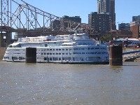 The Admiral riverboat was build in 1939.  Looks pretty modern